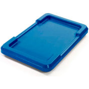 Blue Lid For Cross Stack And Nest Tote - Pkg Qty 6