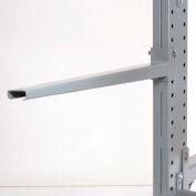 "Cantilever Rack Straight Arm No Lip, 48"" L, 2000 Lbs Capacity"