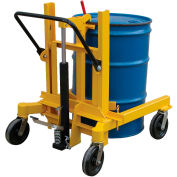 Vestil Hydraulic Drum Transporter DCR-880-H 1500 Lb. Capacity