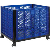"""Global Industrial™ Easy Assembly Vented Wall Bulk Container 39-1/4""""L x 31-1/2""""W x 29""""H Overall"""