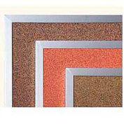 "Balt® Splash Cork Tackboard Aluminum Frame 60""W x 48""H Blue"