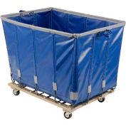 Dandux Vinyl Basket Bulk Truck 400720G18U-3S 18 Bushel - Blue