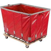 Dandux Vinyl Basket Bulk Truck 400720G18R-3S 18 Bushel - Red