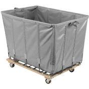 Dandux Vinyl Basket Bulk Truck 400720G20A-3S 20 Bushel - Gray