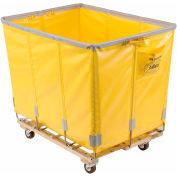 Dandux Vinyl Basket Bulk Truck 400720G24Y-4S 24 Bushel - Yellow