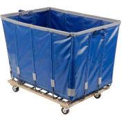 Dandux Vinyl Basket Bulk Truck 400720G06U-3S 6 Bushel - Blue