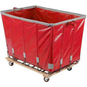 Dandux Vinyl Basket Bulk Truck 400720G08R-3S 8 Bushel - Red