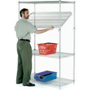 Quick Adjust Wire Shelving 36x14x54