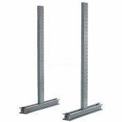 "Cantilever Rack Double Sided Upright, 102"" D x 8' H, 6400 Lbs Capacity"