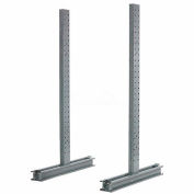 """Cantilever Rack Double Sided Upright, 102"""" D x 10' H, 6200 Lbs Capacity"""