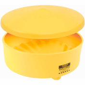 Eagle 1664 Oversized Drum Funnel Cover - Yellow