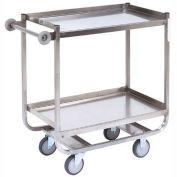 Jamco Stainless Steel Shelf Truck XM236 36x24 2 Shelves