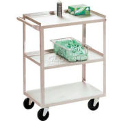 Jamco Stainless Steel Utility Cart XV236 36 x 24 x 35 1200 Lb. Capacity