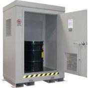 Outdoor Hazardous Chemical Storage Building - 2 Drum