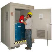Outdoor Hazardous Chemical Storage Building - 4 Drum