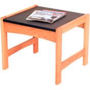 """Wooden Mallet End Table - 21-1/2"""" x 20"""" -  Medium Oak"""