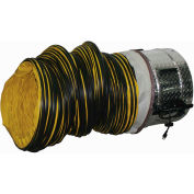 "J&D 20"" Portable Ventilation Fan With 20 Feet Ducting VICS20-GLB 1 HP 6500 CFM"