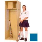 Penco 6WFD61-806 Stadium® Locker With Shelf & Security Box,33x24x76, Marine Blue, All Welded