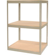 """Record Storage Rack Without Boxes 42""""W x 30""""D x 60""""H"""