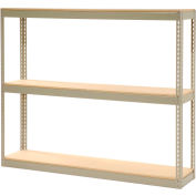 """Record Storage Rack Without Boxes 72""""W x 15""""D x 60""""H"""