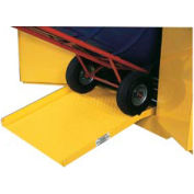 "Jamco Steel Ramp DR - For Drum Storage Flammable Cabinet - 23""W x 25""D x 4'H"