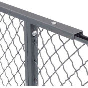 10' Top Capping for Wire Mesh Partition