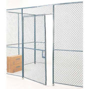 Wire Mesh Hinged Door - 10x3