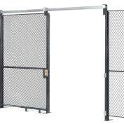 Wire Mesh Sliding Gate - 8x3