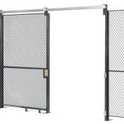 Wire Mesh Sliding Gate - 10x6