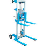 Vestil Lightweight Hand Operated Lift Truck A-LIFT-S 500 Lb. Straddle Legs