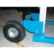 Pneumatic Wheel Kit A-LIFT-PN for Vestil Lightweight Hand Operated Lift Trucks