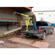 Vestil Steel Winch Operated Pickup, Trailer & Truck Jib Crane WTJ-2 1000 Lb.