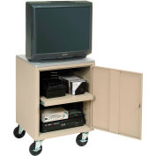 Putty Security Audio Visual Cart 500 Lb. Capacity