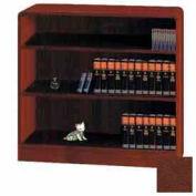 """Unassembled 36""""H Classic Radius Edge Bookcase Medium Oak"""