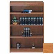"""Unassembled 60""""H Contemporary Square Edge Bookcase Light Oak"""