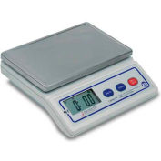 """Detecto PS7 NSF Digital Portion Scale 7lb Multi Capacity, 8"""" x 5"""" Stainless Steel Platform"""