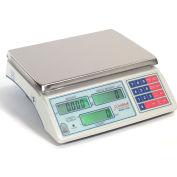 "Detecto CS30 Counting Scale 30lb x 0.002lb/ 15kg x 1g 14-1/2"" x 8-1/4"" Platform"