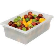 Rubbermaid 3500-00 White Plastic Box 12.5 Gallon 18 x 26 x 9 - Pkg Qty 6