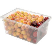 Rubbermaid 3328-00 Clear Plastic Box 16 5/8 Gallon 18 x 26 x 12 - Pkg Qty 6
