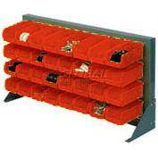 Bench Rack With 22 Akrobins 36x20