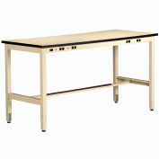 Non Conductive Electronic Workbench 30inch High 72x36 Sand