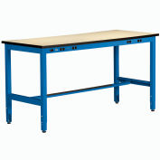 Non Conductive Electronic Workbench 30inch High 72x36 Blue