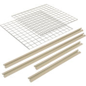 """Additional Level For 60""""W x 24""""D High Capacity Rack Wire Deck"""