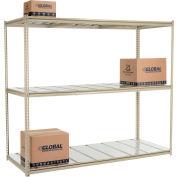 "High Capacity Starter Rack 96""W x 24""D x 84""H With 3 Level Steel Deck 800lb Cap Per Shelf"