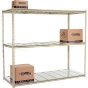 "High Capacity Starter Rack 96""W x 36""D x 84""H With 3 Level Steel Deck 800lb Cap Per Shelf"