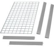 "Bulk Rack Shelf Wire Deck 48""W x 12""D Gray"