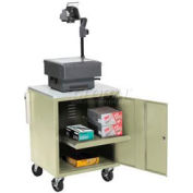 Putty Security Audio/Visual Cart 500 Lb. Capacity