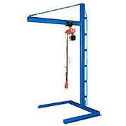 Vestil Cantilever Floor Mounted Jib Crane CJIB-10 1000 Lb. Capacity