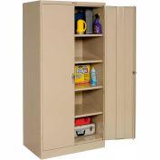 Tennsco Industrial Storage Cabinet 2470 214 - 36x24x78 Sand