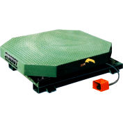 """Highlight Industries Synergy High Profile Stretch Wrap Turntable, 4000 Lb Capacity-48"""" Octagonal Top"""
